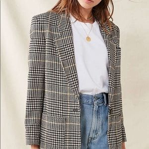 Jackets & Blazers - Oversized Vintage Wool Blazer Jacket Size S or M